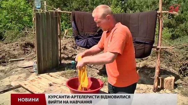 Мобілізовані на Львівщині бунтують: їм майже місяць не видають форми