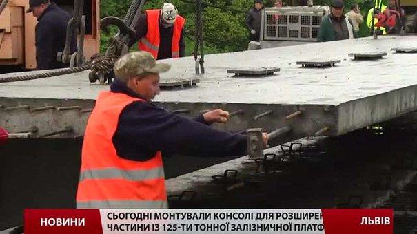 Міст на об'їзній дорозі Львова обіцяють відкрити наприкінці червня
