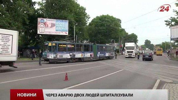 Стала відома ймовірна причина сходження львівського трамваю №6 із рейок