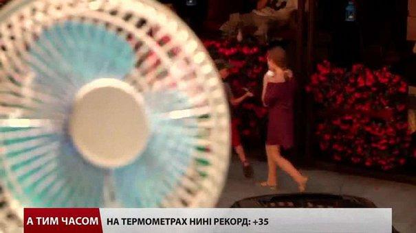 У понеділок львів'яни по-різному рятувались від палючого сонця