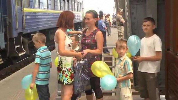 До Львова зі зони АТО повернулися 70 прикордонників