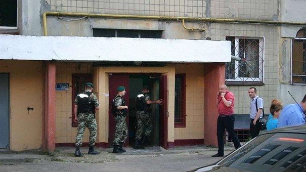 З'явилося ексклюзивне відео спецоперації зі звільнення заручниці у Львові