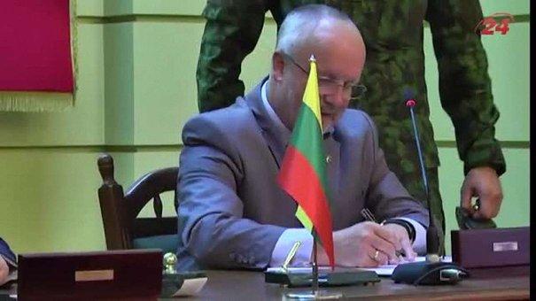 У Львові підписали угоду про створення міжнародної військової бригади