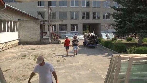 До нового навчального року у львівських школах тривають ремонти