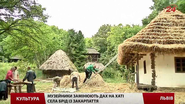 У львівському музеї-скансені реставрують давні хати