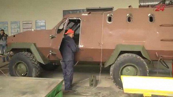 На Львівському бронетанковому заводі з нуля виготовлятимуть бронемашини