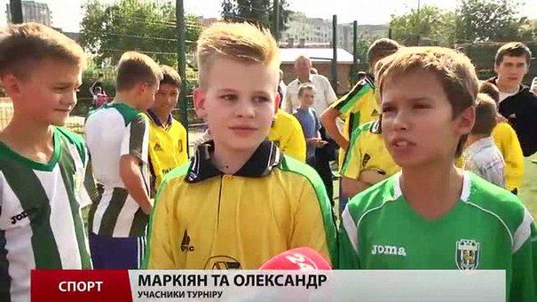 У Львові діти позмагалися на турнірі з вуличного міні-футболу