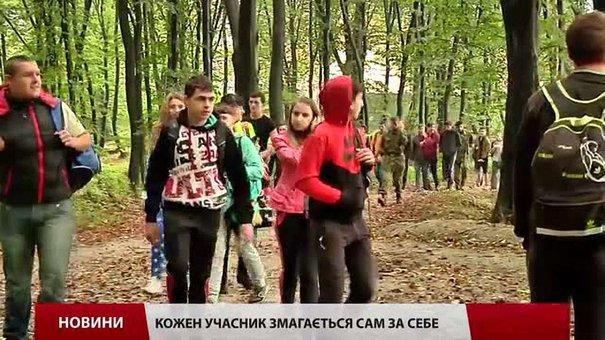 У змаганнях «Готуюсь до служби в армії» у Львові першість здобули учні 7-ї школи