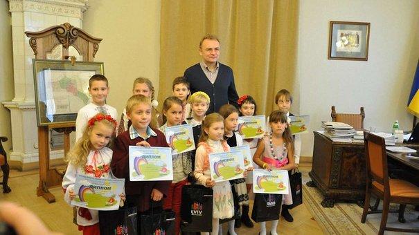 У львівській Ратуші нагородили маленьких художників