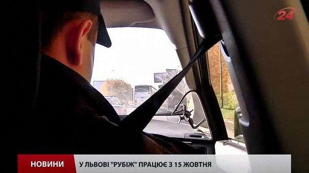 У Львові поліцейські полюють за військовими машинами