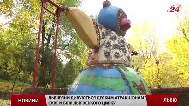 У Львові презентують проект реконструкції площі і скверу біля цирку