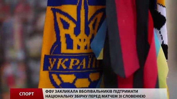 Львів'яни висловили підтримку збірній України з футболу