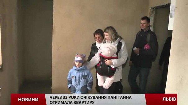 Дев'яносто сімей львівських залізничників отримали власне житло
