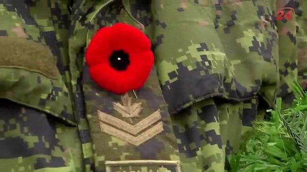 На Львівщині канадці разом з українськими військовими вшанували загиблих героїв