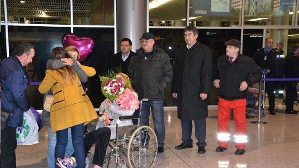 Постраждала від вибуху інспектор поліції  повернулася до Львова