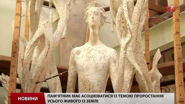 У майстерні Володимира Одрехівського уже готовий пам'ятник Антоничу для Львова