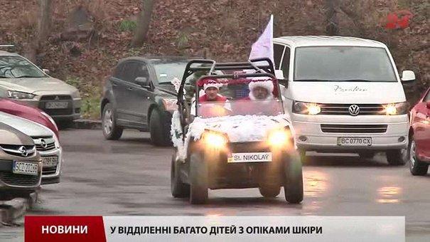 Діти в лікарні ОХМАТДИТ у Львові вже отримали подарунки від Святого Миколая