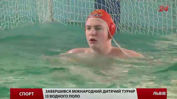 Юні львів'яни «потопили» усіх суперників на міжнародному турнірі з ватерполо