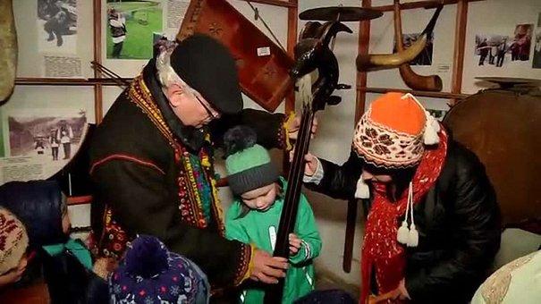У «Шевченківському гаю» відкрили хатинку Святого Миколая