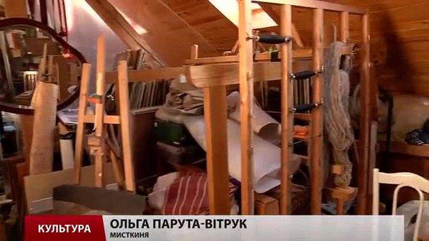 Львів'янка Ольга Парута-Вітрук творить гобелени на горищі