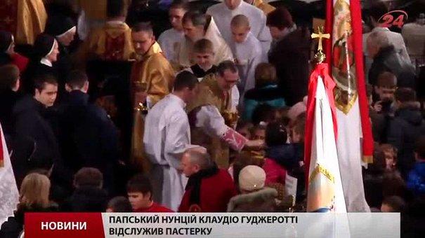 Римо-католики Львова святкують Різдво