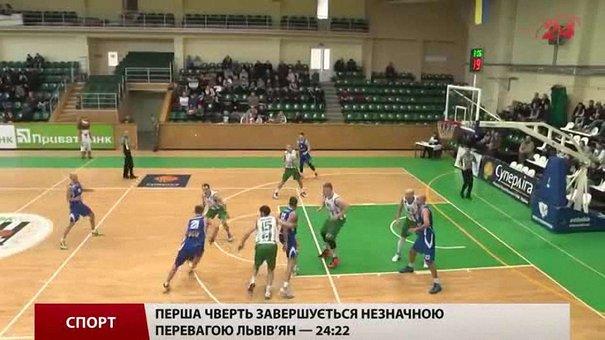 В останньому матчі року баскетбольна «Галичина» приймала «Одесу»