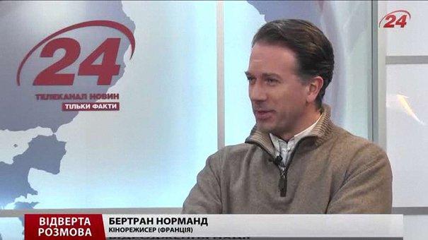Французький режисер розповість українцям про нову українську націю