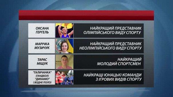 На Львівщині визначили найкращих спортсменів 2015 року