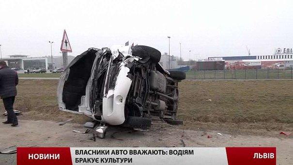 В кожній четвертій ДТП у Львові водій зникає з місця пригоди