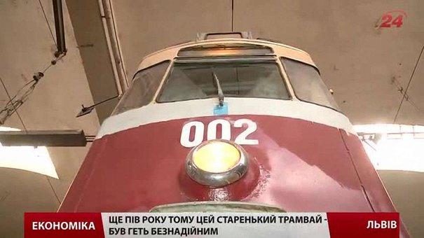 Львівські активісти планують відреставрувати раритетний трамвай до Дня міста