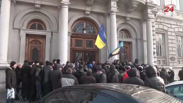 Шахтарі ДП «Львіввугілля»  заблокували ЛОДА