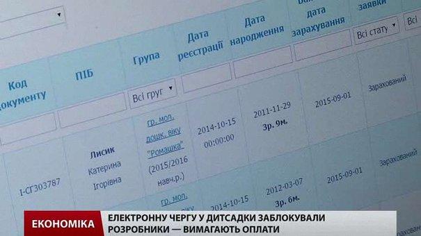 У деяких районах Львівщини заблокована електронна черга до дитсадків
