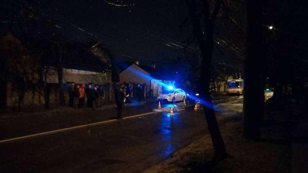 На вул. Мазепи водій насмерть збив жінку і втік з місця ДТП