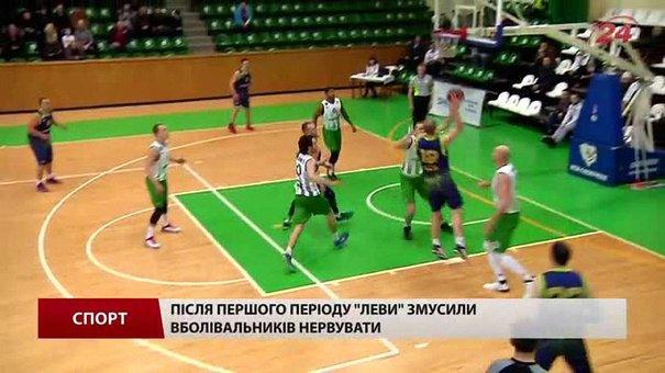 Баскетбольна «Галичина» поступилася у першій дуелі чвертьфіналу плей-офф