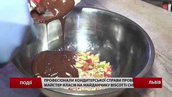 Кондитери провели низку майстер-класів на майданчику BISCOTTI chefs
