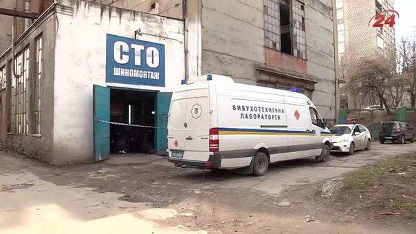 У Львові для першоквітневого жарту в автомобіль підклали псевдовибухівку