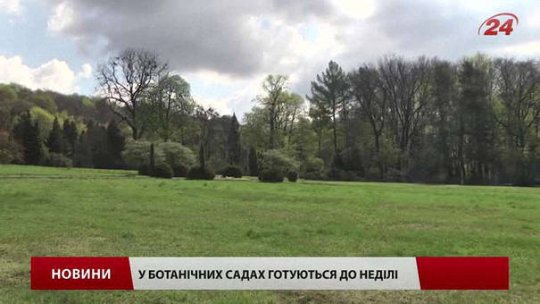 Дві неділі поспіль Ботанічний сад Львова запрошує у гості