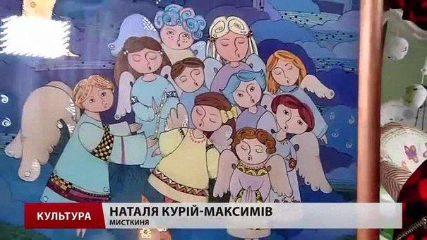 Львівська мисткиня малює ангелів для міст сходу та півдня України