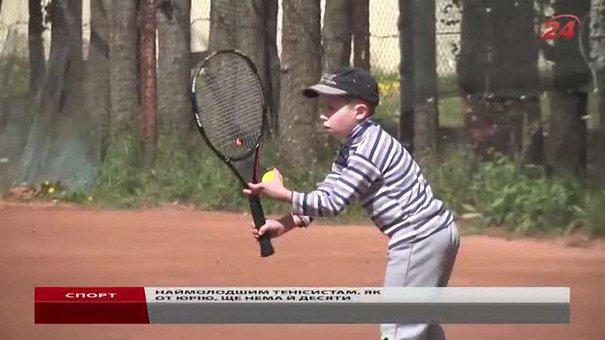 На чемпіонаті області у Львові гостюють тенісисти з усієї України