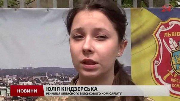 Відсьогодні юнаків від 20 до 27 років запрошують у військкомати Львівщини