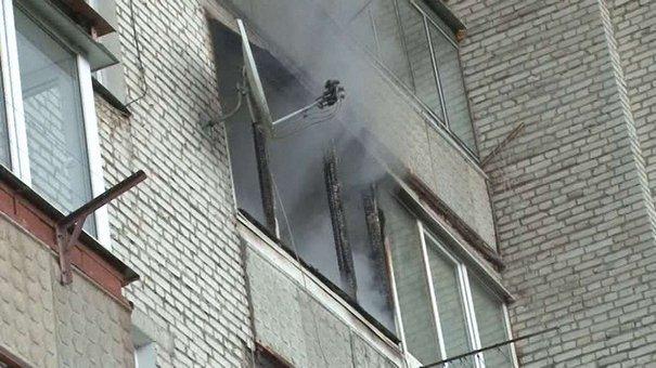 Через пожежу у квартирі львівської багатоповерхівки евакуювали 15 людей