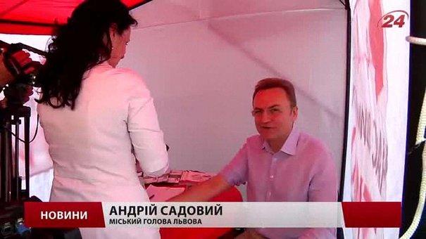 До кінця травня перевірити свій артеріальний тиск можна просто на вулицях Львова