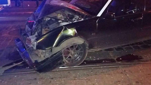 В нічній ДТП у центрі Львова постраждали семеро людей