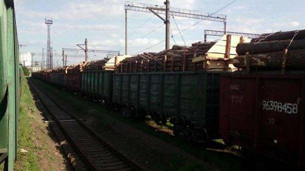 Затримані у Львові ешелони з лісом відправлять на перевірку в Чернівецьку область