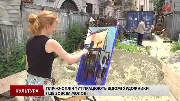 Проти руйнування будівель Львова виступили 20 художників