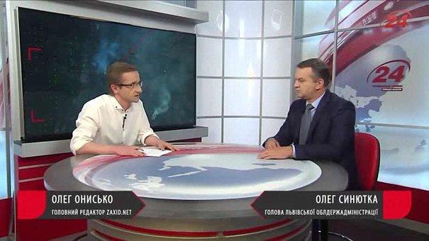 Олег Синютка про сміттєву блокаду Львова. Прямий ефір