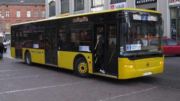 З понеділка автобуси №35, 44, 18 та 3А курсуватимуть за зміненими маршрутами