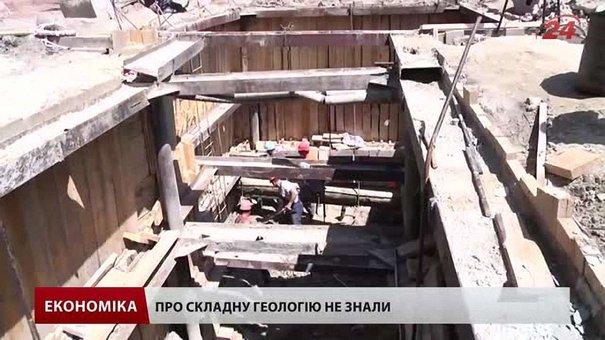 Під дорогою на Мечникова у Львові виявили скельну породу