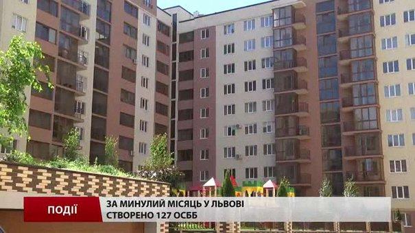 За минулий місяць у Львові створено 127 ОСББ