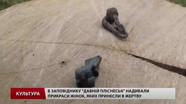 В заповіднику «Давній Пліснеськ» знайшли прикраси жінок, яких принесли в жертву